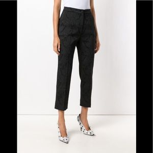 Dolce & Gabbana Jacquard Lace Effect Trousers
